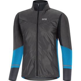 GORE WEAR R5 Gore-Tex Infinium Soft Lined Camisa Manga Larga Hombre, black/dynamic cyan